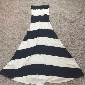 NWOT Gap strapless dress